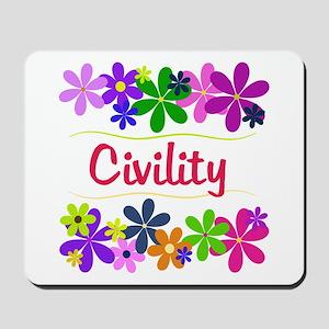 Civility Mousepad
