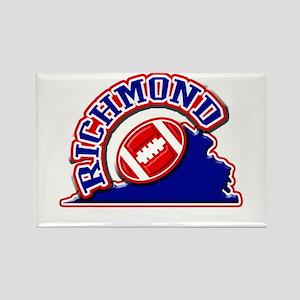 Richmond Football Rectangle Magnet