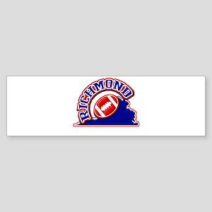 Richmond Football Bumper Sticker
