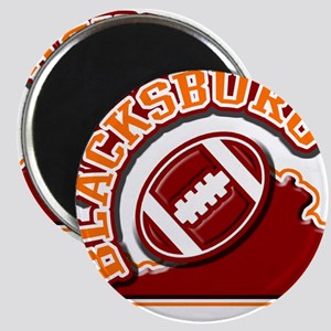 Blacksburg Football Magnet