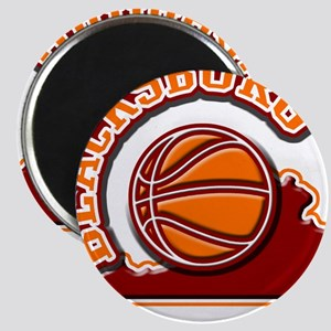 Blacksburg Basketball Magnet