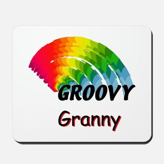 Groovy Granny Mousepad