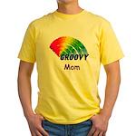 Groovy Mom Yellow T-Shirt