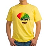 Groovy Mom Yellow T-Shirt