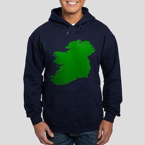 Map of Ireland Hoodie (dark)