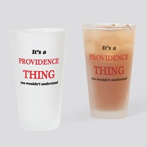 It's a Providence Rhode Island Drinking Glass