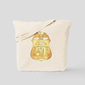 FBI Badge Tote Bag
