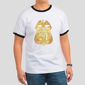 FBI Badge Ringer T