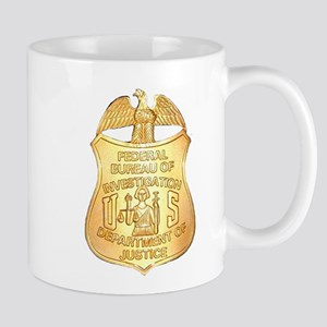 FBI Badge Mug