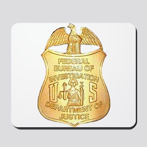 FBI Badge Mousepad