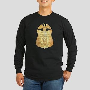 FBI Badge Long Sleeve Dark T-Shirt