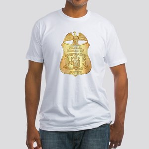 FBI Badge Fitted T-Shirt
