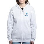 Women's Zip Hoodie, 2 Colors Sweatshirt