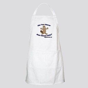 Has Your Beaver Been Kissed BBQ Apron