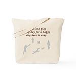 Train and Play Tote Bag