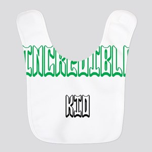 One Incredible Kid Polyester Baby Bib