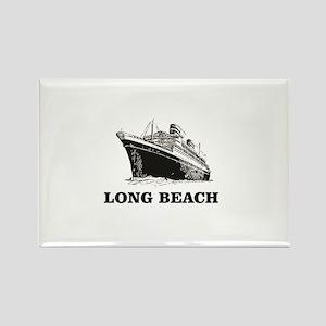 long beach boat Magnets