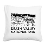 Death Valley National Park Square Canvas Pillow
