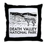 Death Valley National Park Throw Pillow