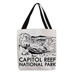 Capitol Reef National Park Polyester Tote Bag