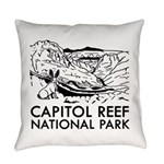 Capitol Reef National Park Everyday Pillow