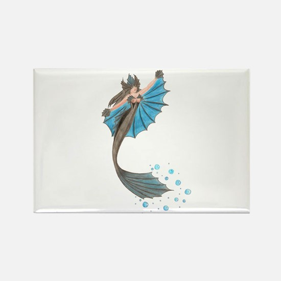 Siren of the Sea Rectangle Magnet