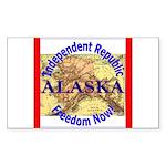 Alaska-3 Rectangle Sticker 10 pk)