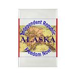 Alaska-3 Rectangle Magnet (100 pack)