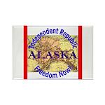 Alaska-3 Rectangle Magnet