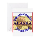 Alaska-3 Greeting Cards (Pk of 20)