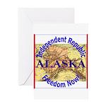 Alaska-3 Greeting Card