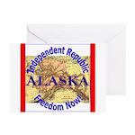 Alaska-3 Greeting Cards (Pk of 20)