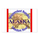Alaska-3 Postcards (Package of 8)