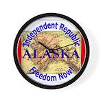 Alaska-3 Wall Clock