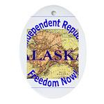 Alaska-3 Oval Ornament