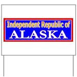 Alaska-2 Yard Sign