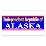 Alaska-2 Rectangle Sticker