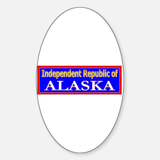 Alaska-2 Oval Decal