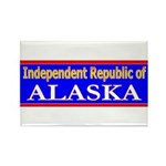 Alaska-2 Rectangle Magnet (100 pack)