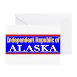 Alaska-2 Greeting Cards (Pk of 20)