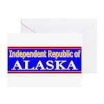 Alaska-2 Greeting Cards (Pk of 10)