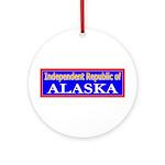 Alaska-2 Ornament (Round)