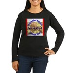 Alaska-3 Women's Long Sleeve Dark T-Shirt