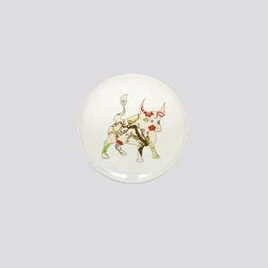 Year of the Ox Art Mini Button
