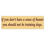 Sense of Humor Bumper Sticker (10 pk)