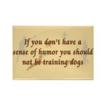 Sene of Humor Rectangle Magnet (100 pack)