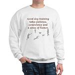 Good Dog Training Sweatshirt