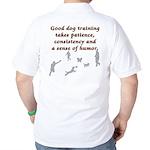 Good Dog Training Golf Shirt