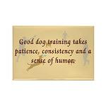 Good Dog Training Rectangle Magnet (10 pack)