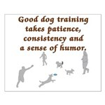 Good Dog Training Small Poster